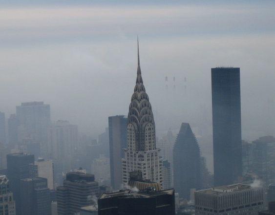 Foggy Manhattan
