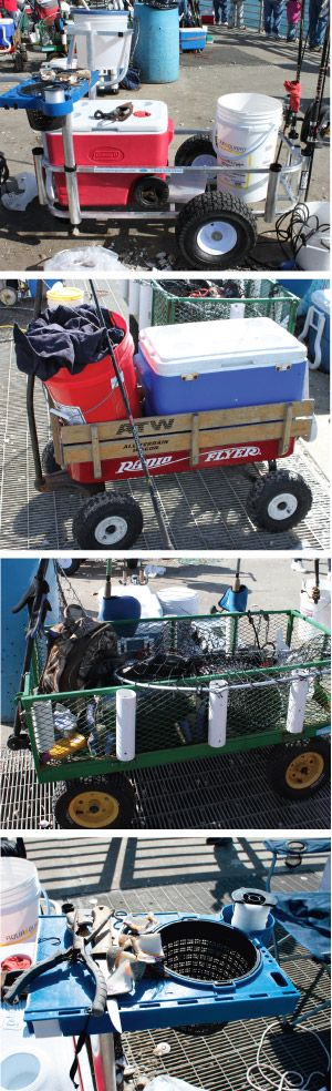 make your own fishing cart