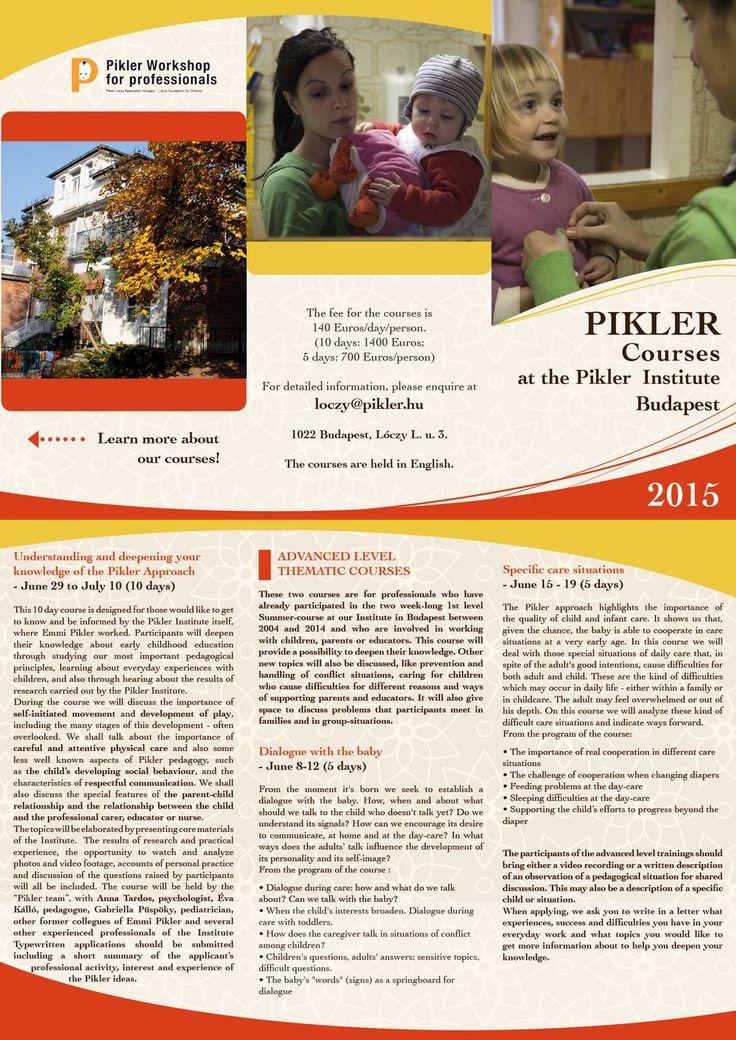 Pikler - English - Course - 2015