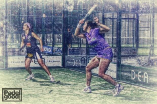 Icíar Montes y Ale Salazar, dos de las mejores jugadoras mundiales de padel.