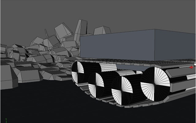 Connectors: Tank Treads by Chicago C4D. This tutorial I'll show you how to put together entirely dynamic tank treads. Also some nifty fast rock terrain.