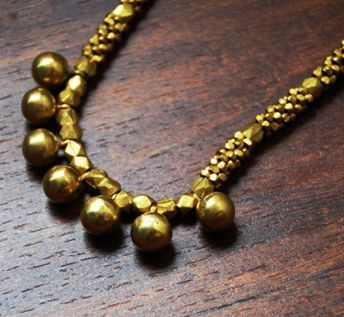 The Dhokra Necklace