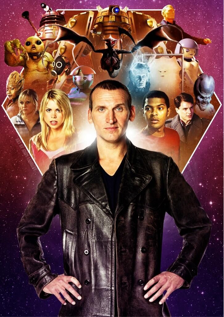 Doctor Who - Christopher Eccleston (I could've also pinned this under my Travel Bucket board, :D...)