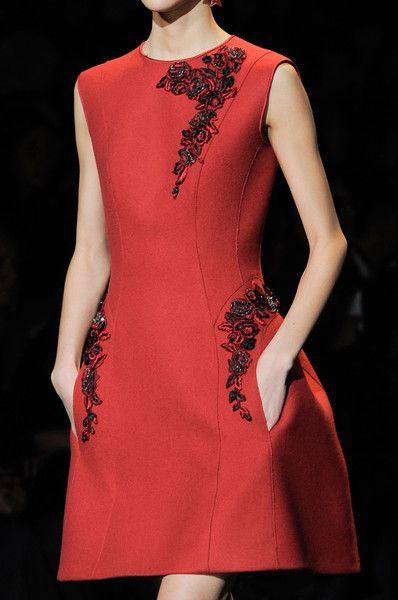 Alberta Ferretti at Milan Fashion Week Fall 2013