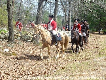 Join Patriots' Day celebrations in Boston, Lexington, Concord and see the start of the American Revolution reenacted, plus Paul Revere's ride, battles, and more special events.