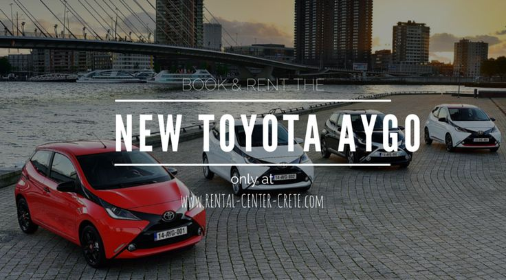 Book car rental models that you first saw at Rental-Center-Crete.com  The New #Toyota #Aygo is now available to book in #Crete Island http://www.rental-center-crete.com/cars/group-a/toyota-aygo.html