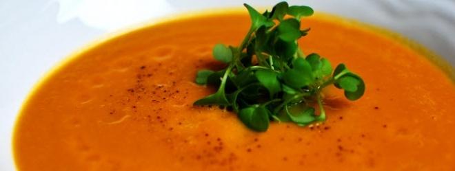 Soupe carottes/gingembre