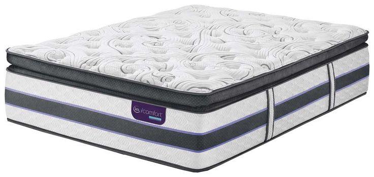 Serta Mattress - iComfort Hybrid HB700Q Super Pillow Top King Size Mattress - HB700Q-Super Pillow Top-KING
