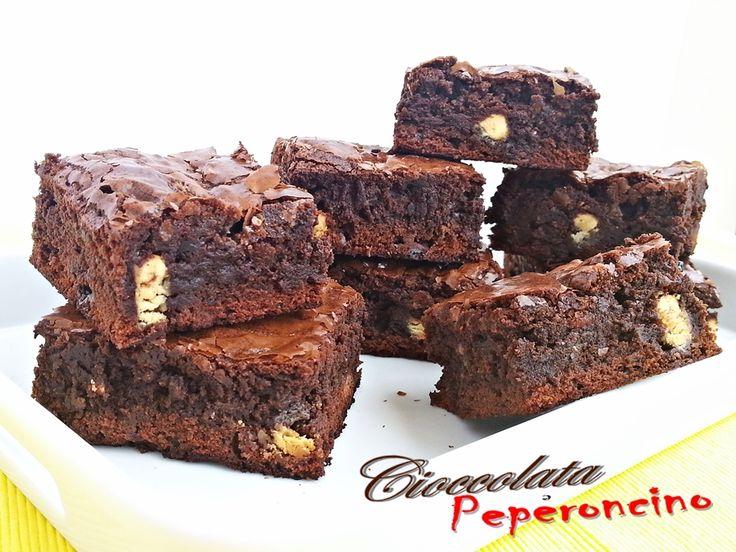brownies tripla cioccolata