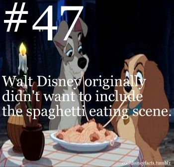 Cool Disney Facts #47...that is the best part of the entire movie. :O So glad it made it in <3