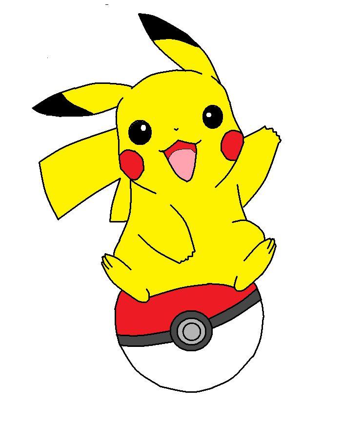 Pikachu clipart clipart best poke 39 mon pinterest - Images de pikachu ...