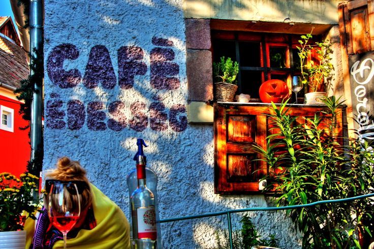 Hungary - Cafe in Szentendre