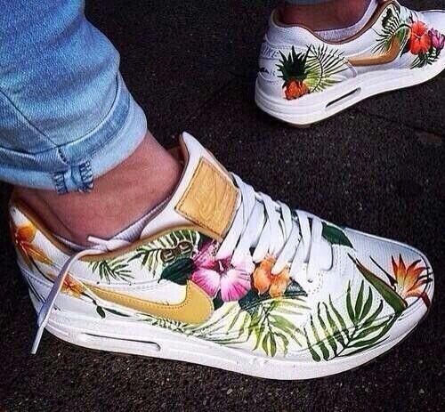#Tropical #nike #sneakers