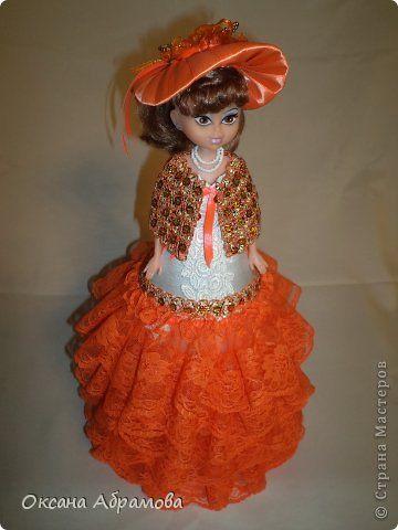 Modelowanie elementów Decor Lalki projekt rzemiosło Produkt 08 marca Krawiectwo Dolly - Box Pani Elena zdjęcie 1