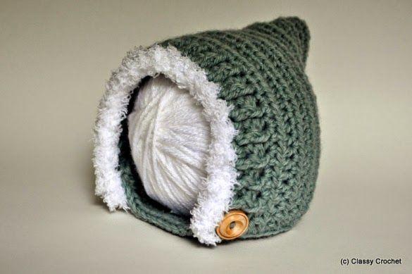 かぎ針で編むベビーピクシーハット(妖精の帽子)の編み方 Crochet and Me かぎ針編みの編み図と編み方