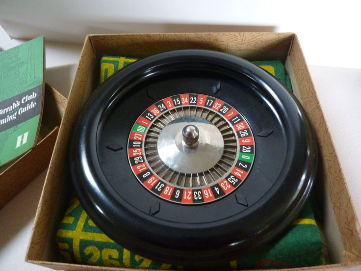 Let's Play Roulette<<>>Vintage 1940 Roulette Gaming Set By Rott…