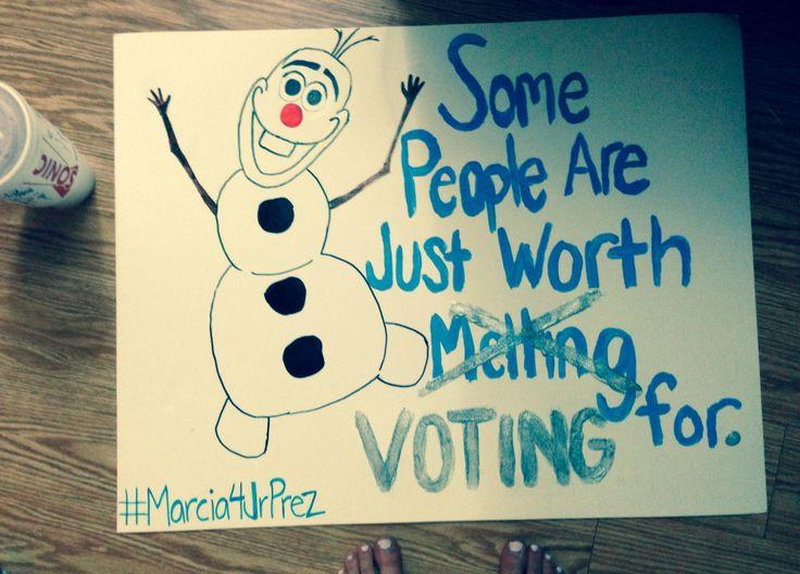 25+ best ideas about Student council campaign on Pinterest ...