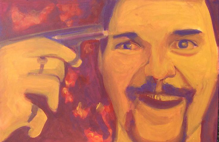 """Australian Artist Eric """"Chopper"""" Bana  For Sale Alicelookingthruglass@gmail.com"""