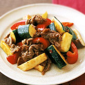 牛肉と野菜の豆板醤炒め | 倉持光江さんの炒めものの料理レシピ | プロの簡単料理レシピはレタスクラブニュース