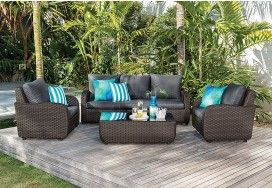 Mediterranean Outdoor Lounge | Super Amart