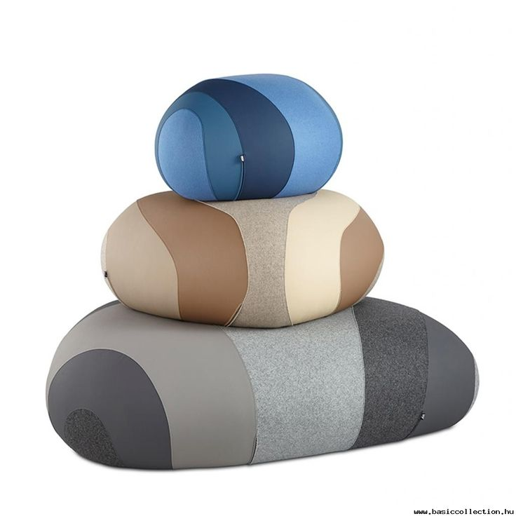 Riverside poufs #basiccollection #stone #poufs #river #style