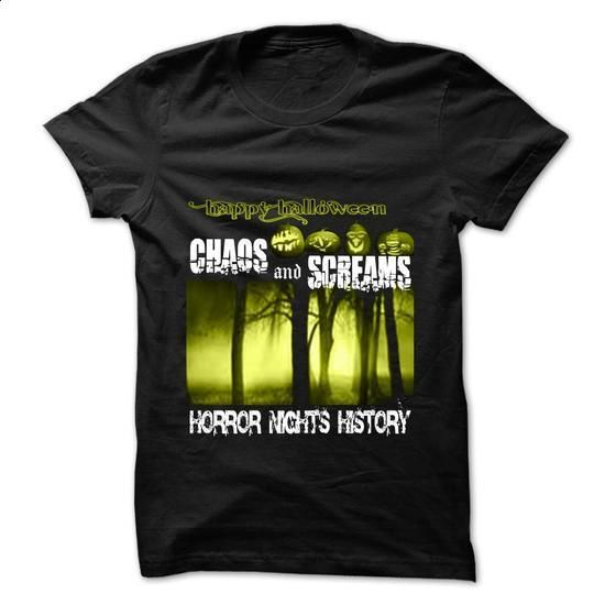 Halloween horror nights history - #white shirt #tshirt pillow. BUY NOW => https://www.sunfrog.com/Holidays/Halloween-horror-nights-history.html?68278