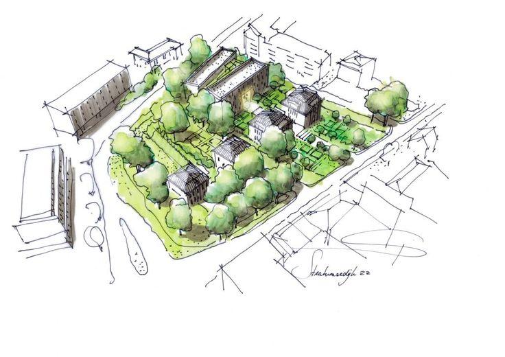 EINDHOVEN - Sportfondsenbad/CKE Eindhoven maakt plaats voor villa's en appartementen
