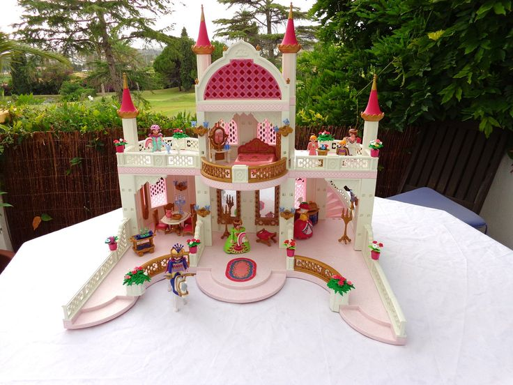 Playmobil-Palacio de princesa 4250 y 4253 - Princess Palace used, in good condition www.playmobil-paraiso.myshopify.com