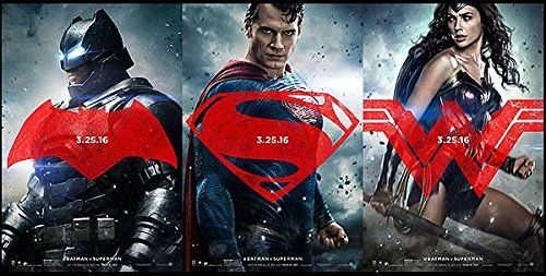 Batman V Superman: Dawn of Justice - Authentic Original 40 x 27 Movie Poster @ niftywarehouse.com #NiftyWarehouse #Superman #DC #Comics #ComicBooks