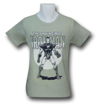 Iron Man Vintage Defender Tee