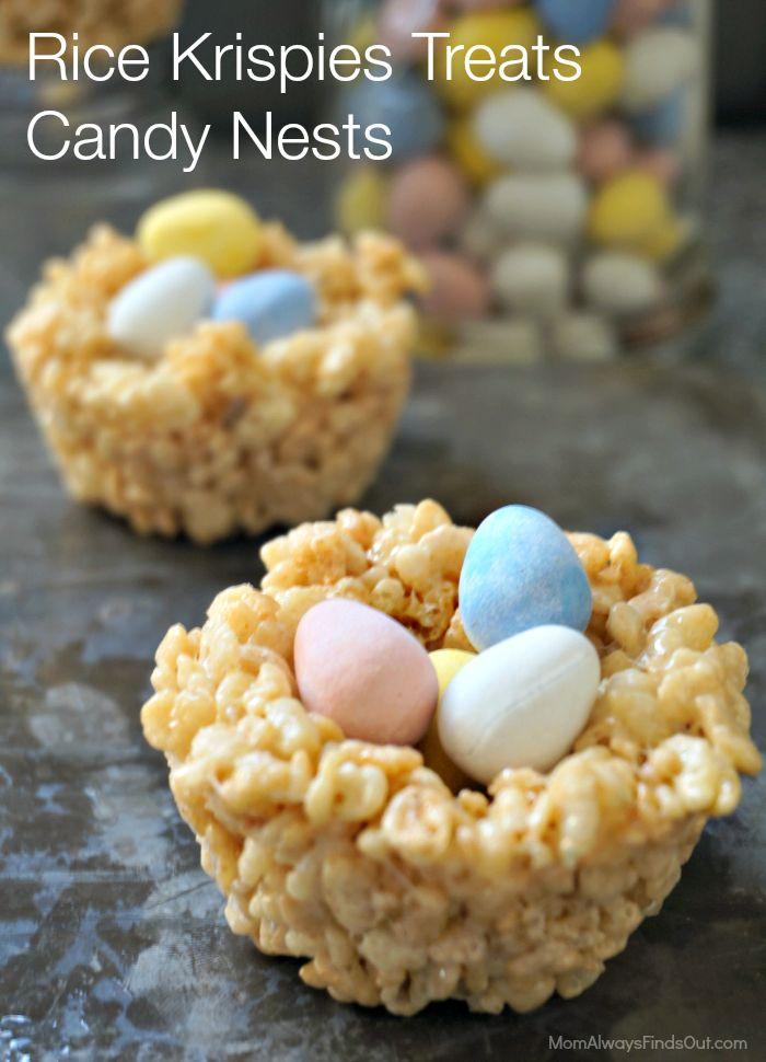 Rice Krispies Easter Nests