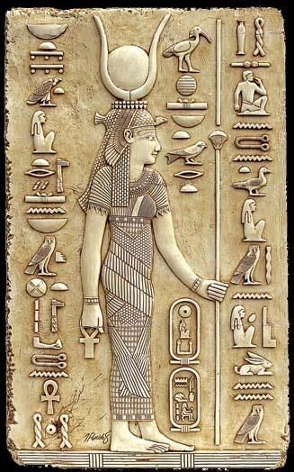 "Isis – Goddess of magical power and healing, ""She of the Throne"" who was represented as the throne. She was worshipped as the ideal mother and wife as well as the patroness of nature and magic. She was the friend of slaves, sinners, artisans, the downtrodden, but she also listened to the prayers of the wealthy, maidens, aristocrats, and rulers."