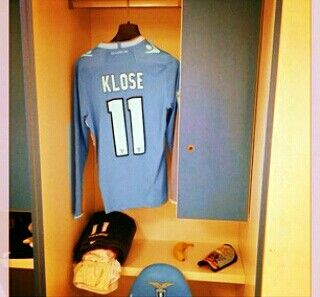 Home Kit Jersey Lazio (Klose 11)