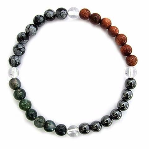 Gemstone ENERGY BRACELET Crystal Healing - BALANCE - Crystal Rock Emporium