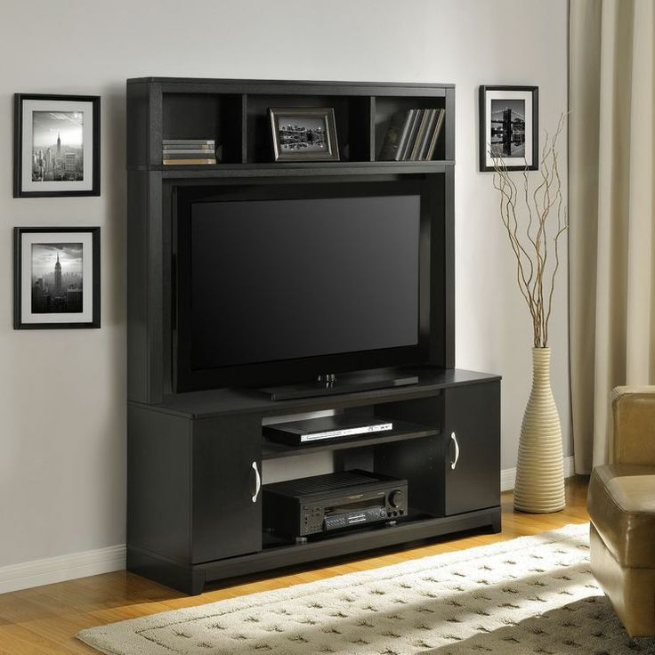 find best value and selection for your entertainment center tv stand console home theater wood furniture modern media search on ebay - Tv Wand