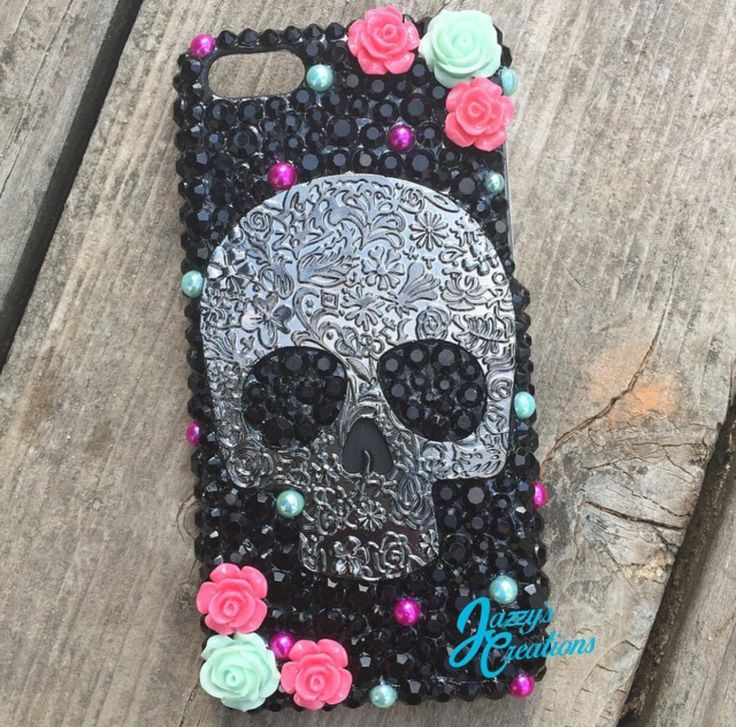 Skull Case with a little pop of color