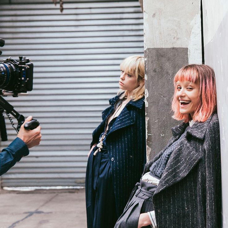#Sisley #Sisleyfashion #FW2016 #woman #trend #collection #fashion #backstage #pinstripes