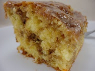 Cinnamon, brown sugar, yellow cake mix....can't go wrong.