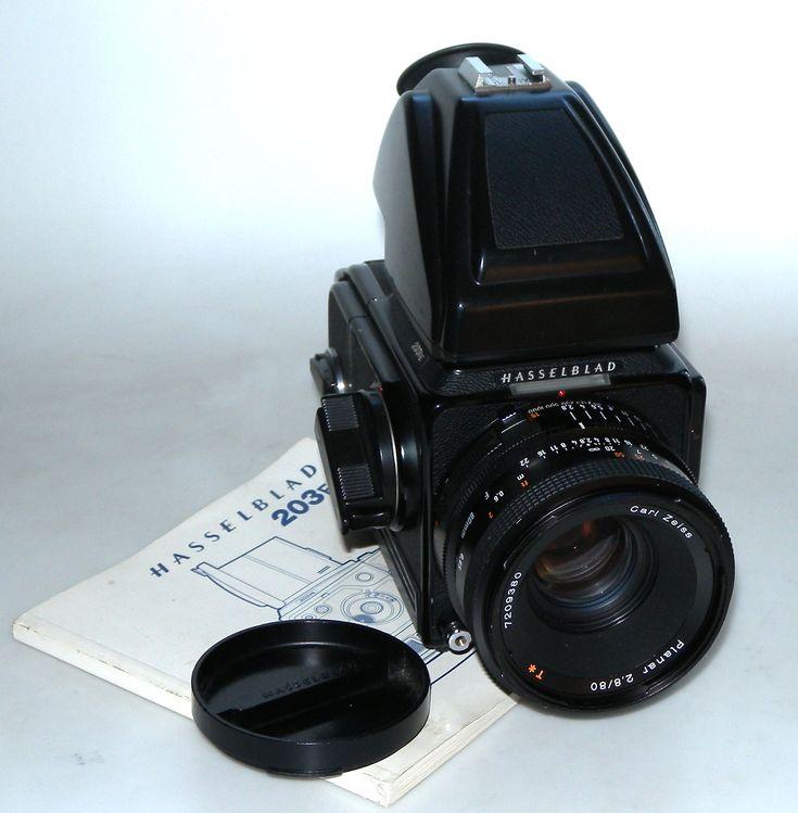 HASSELBLAD 203FE + PLANAR 80/2.8 F, PARE-SOLEIL, DOS E12, PRISME PM45 HASSELBLAD MRS7 : vente d'appareils photo de collection et d'occasion : french-camera.fr
