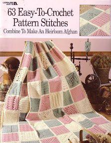 63 Easy Crochet Stitch Afghan - Nicoleta Danaila - Picasa ウェブ アルバム