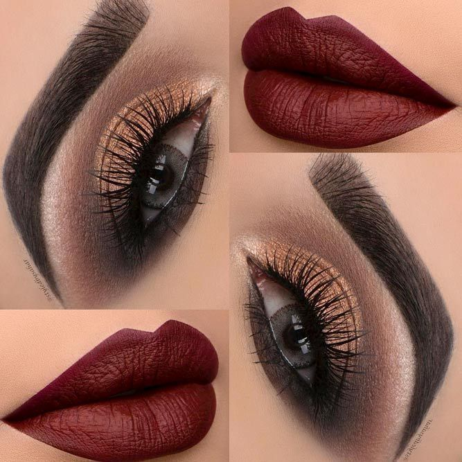 Explore our collection of red lipstick looks and corresponding red flowers to get some inspiration and choose the shade of red that will perfectly counteract your skin and illuminate your face! #makeup #makeuplover #makeupjunkie #lips