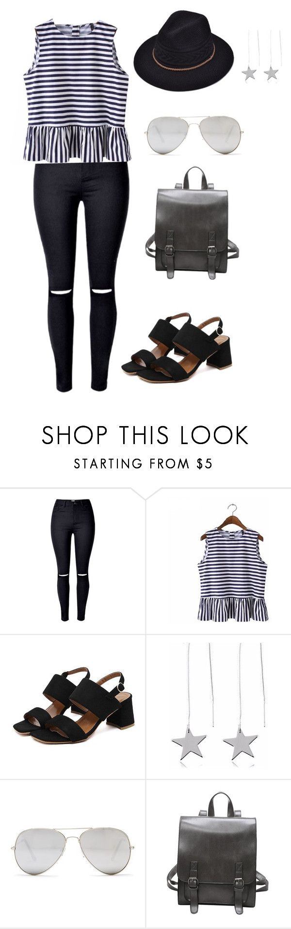Outfit #1 by impavidgirl on Polyvore featuring Sunny Rebel