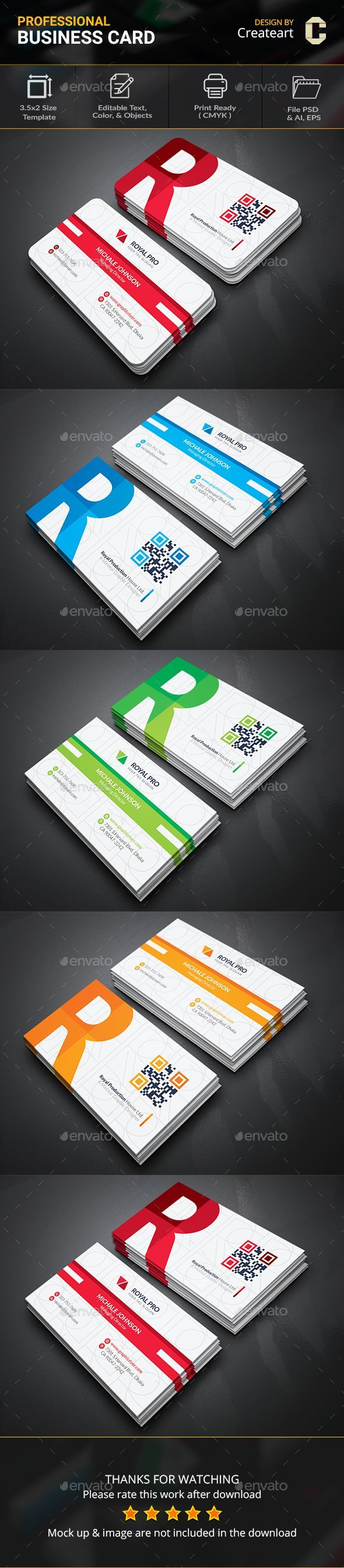 32 Best Corporate Business Card Images On Pinterest Business Cards