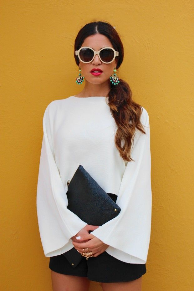 Not a Simple Black and White Look | Negin Mirsalehi