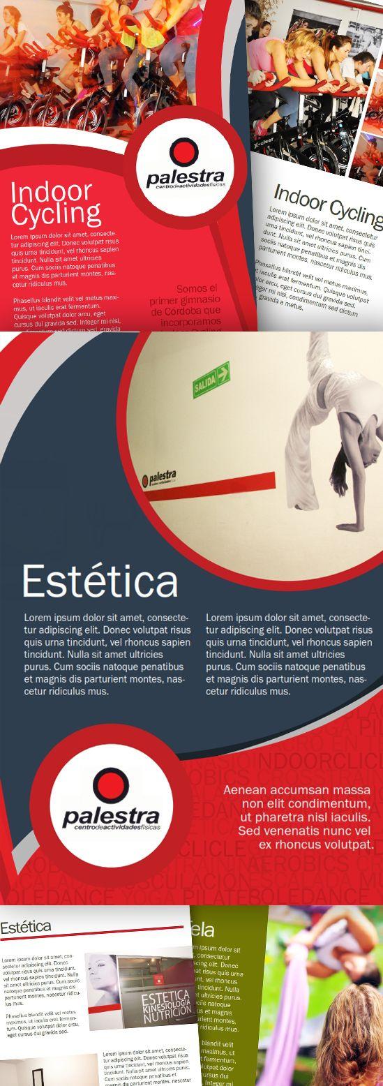 Diseño  de carpeta institucional para el gimnasio líder de la Ciudad de Córdoba. Cuánto orgullo!. (el texto es simulado porque la información es confidencial)  http://lavacaenlaluna.com/feeds/featured/gimnasio-palestra-carpeta-institucional/