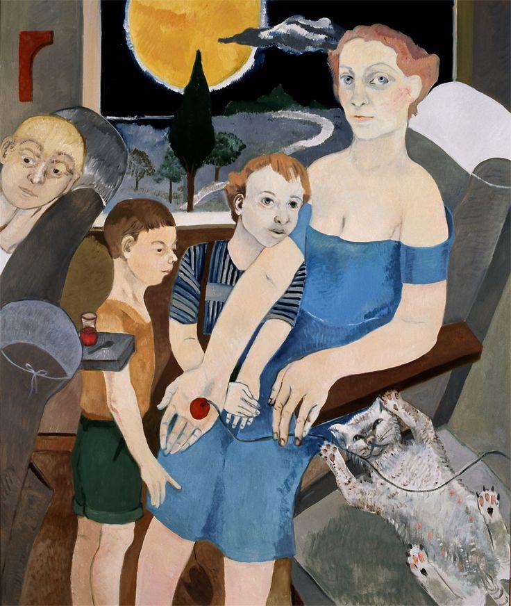 Neş'e Erdok (Turkish, b. 1940) - Oil on canvas, 2011