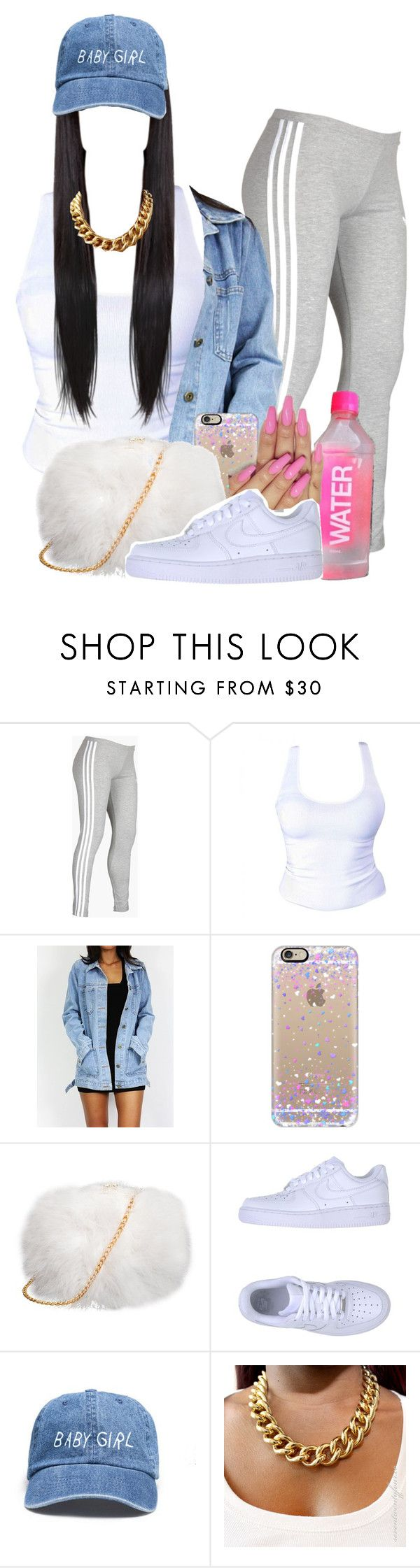 """""""Fashion Killa"""" by melaninprincess-16 ❤ liked on Polyvore featuring adidas, Casetify and NIKE"""