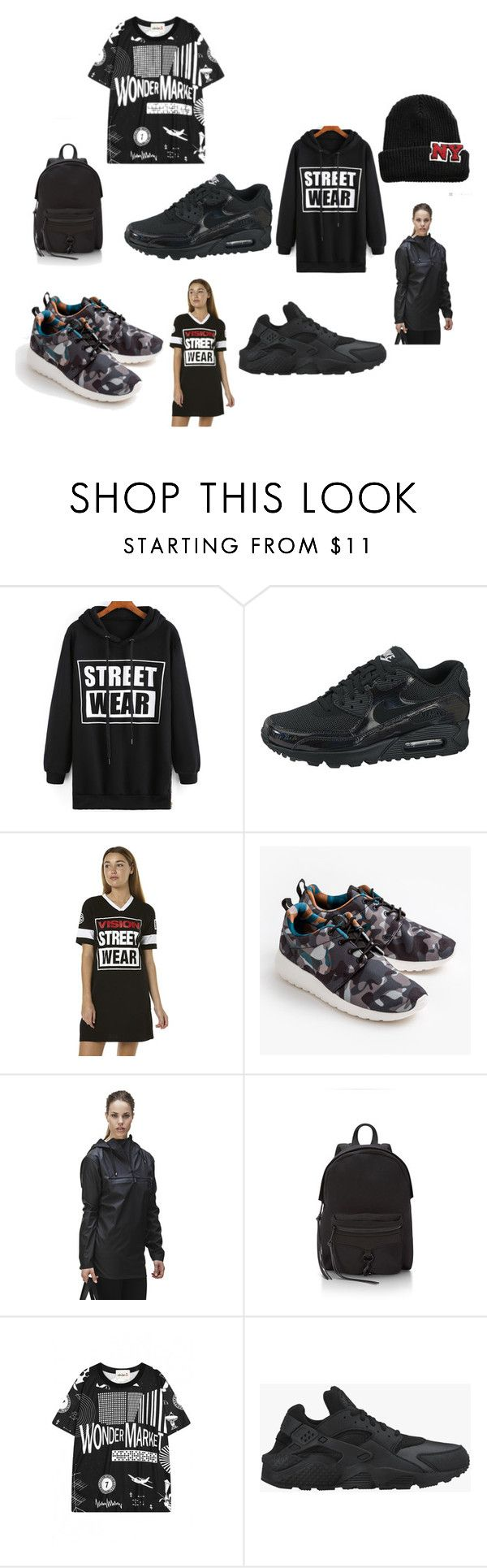 There are 12 vision street wear shoes images in the gallery -  Street Style By Devante Gordon On Polyvore Featuring Withchic Nike Vision