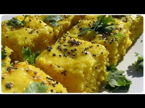 Khaman Dhokla (Gujarati Recipe) - Master Chef Tarla Dalal Recipes