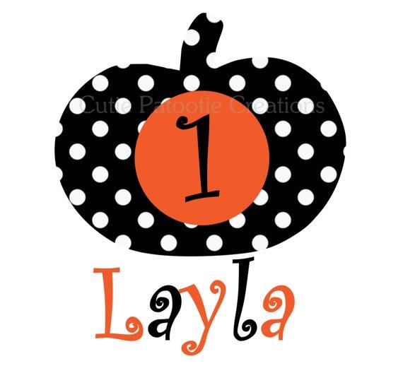 Pumpkin T Shirt Personalized Halloween by CutiesTieDyeBoutique, $18.00